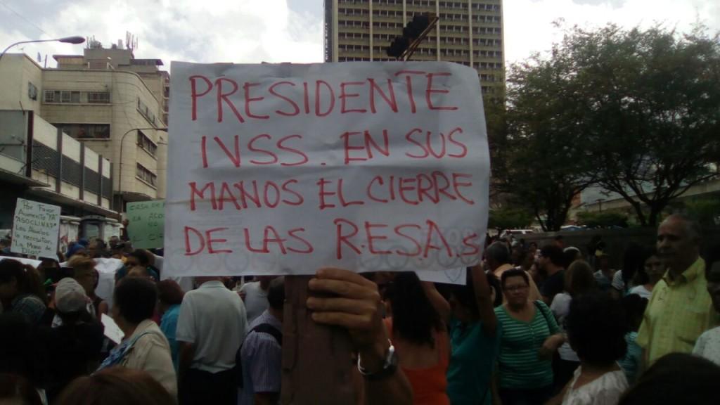 Protesta IVSS 4