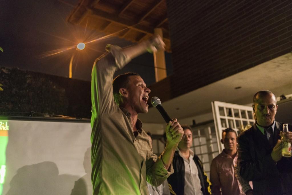 """""""De Chávez me llamó la atención que estuvo preso, eso hacía como un clic entre él y yo"""". © Gabriel Osorio"""