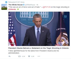 Barack Obama sobre masacre en Orlando
