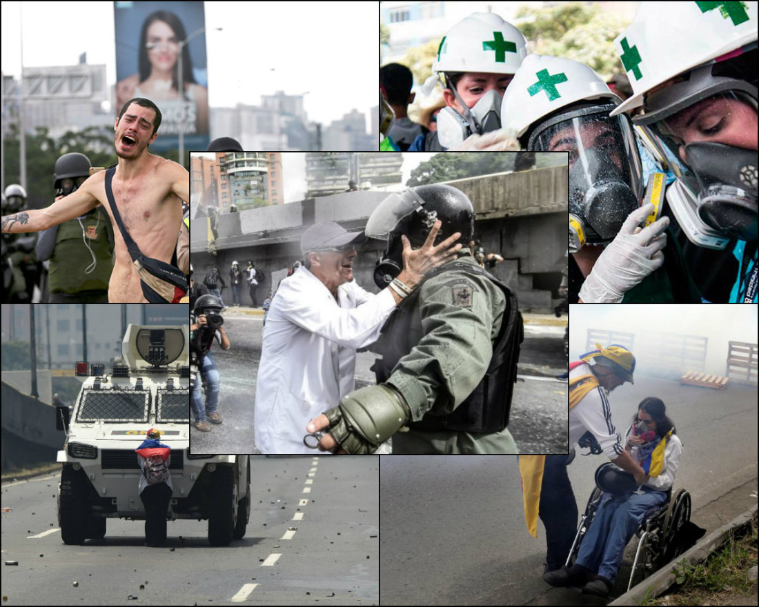 iconos protestas
