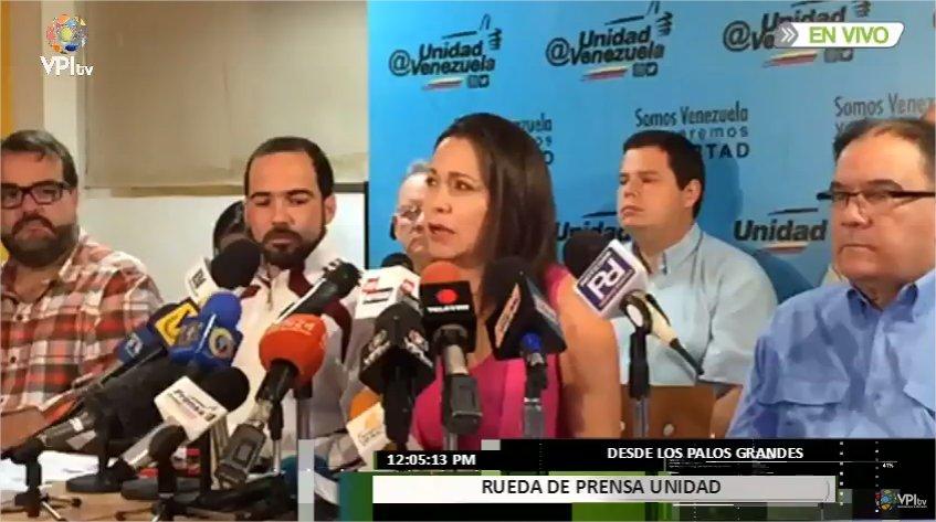 María Corina Machado MUD.