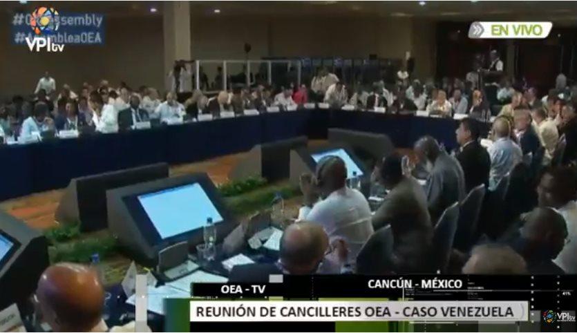 Reunion Sesion OEA Venezuela