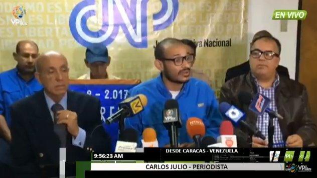 Carlos julio rojas periodista