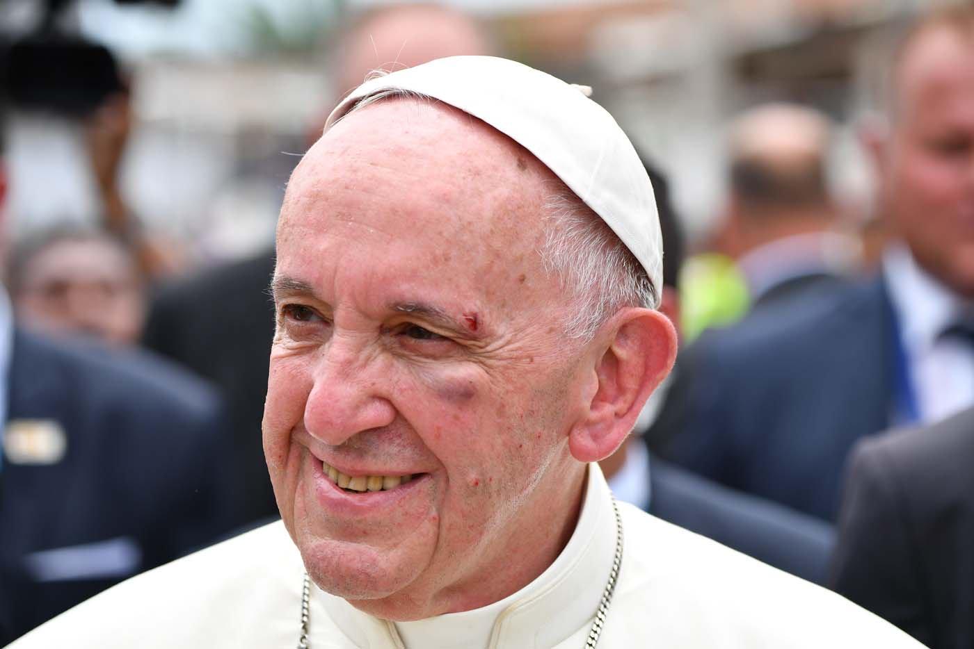 Carita del papa1