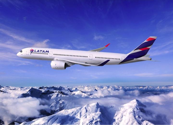 A350-LATAM-Cordillera