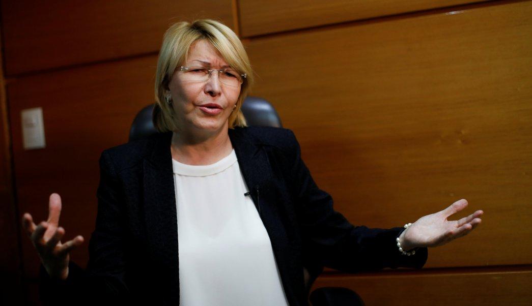 Venezuela's dismissed chief prosecutor Luisa Ortega Diaz speaks during an interview with Reuters in Caracas, Venezuela August 10, 2017. REUTERS/Carlos Garcia Rawlins