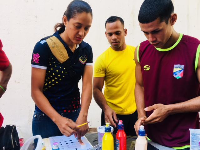 Atletas en apoyo al reciclaje