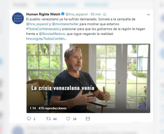 Human Rights Watch (@hrw_espanol)  Twitter - Google Chrome