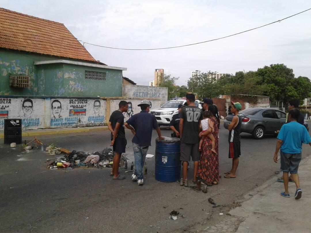 protesta-barrio-valle-frio-maracaibo-1