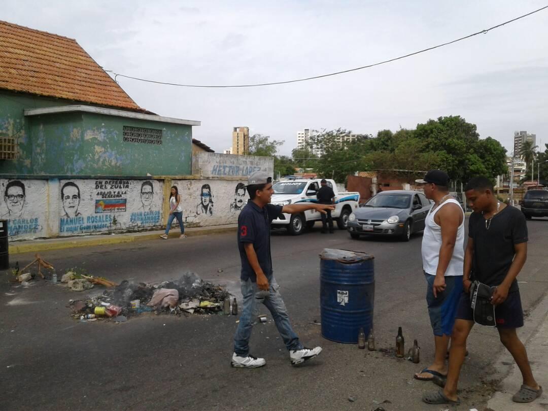 protesta-barrio-valle-frio-maracaibo-2