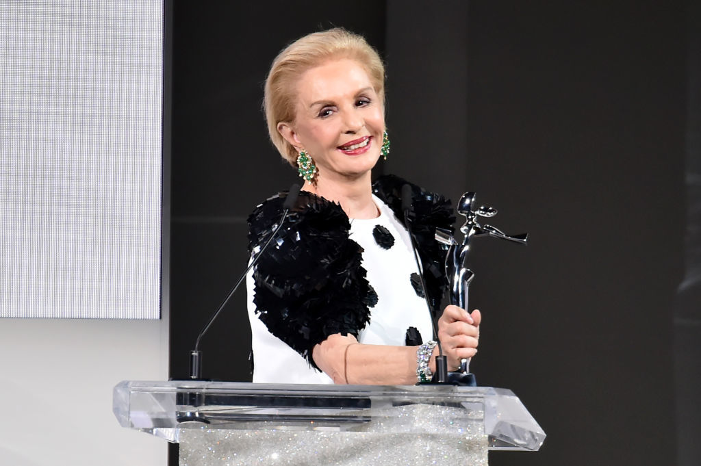 speaks onstage during the 2018 CFDA Fashion Awards at Brooklyn Museum on June 4, 2018 in New York City.