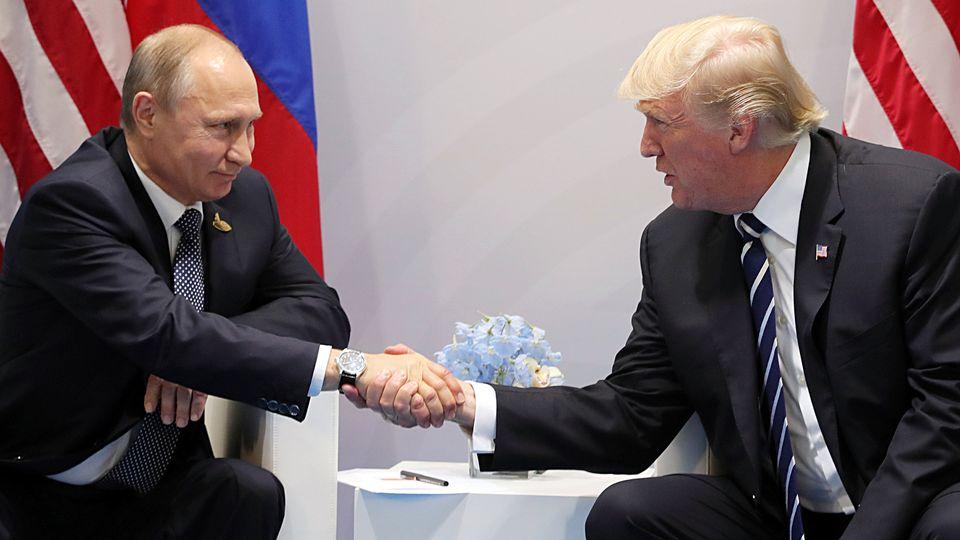 kokousteemat Vladimir Putin Donald Trump tapaaminen G20 7.7.2017 53633036